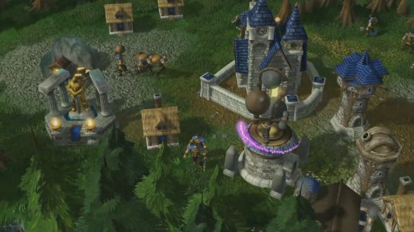 WarCraft: Armies of Azeroth is a nostalgic Starcraft II mod remake of Blizzard's Warcraft III