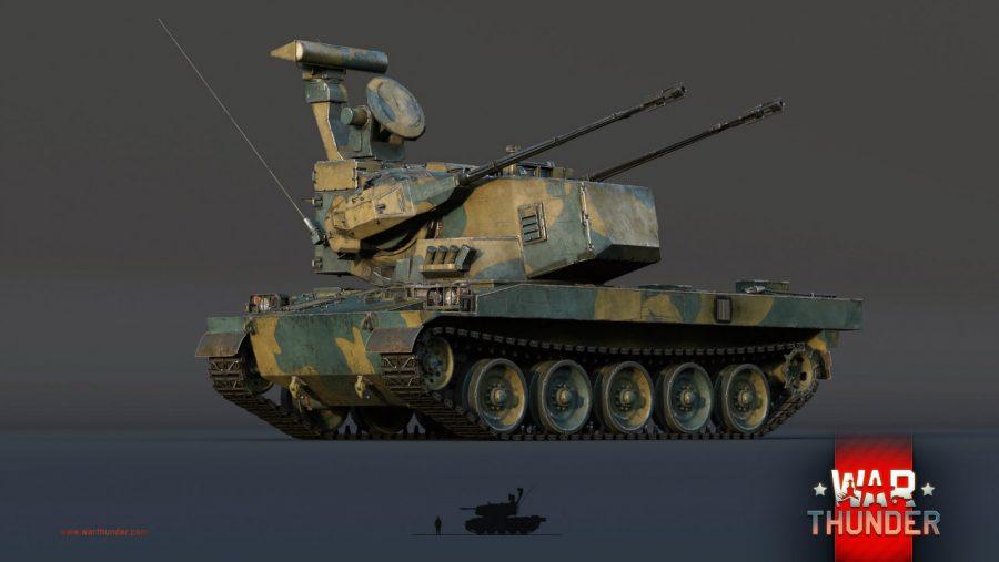 War Thunder Type 87 SPAAG