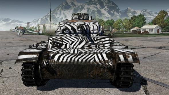 war thunder skins panzer