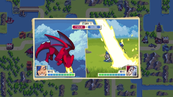 Wargroove has 12 campaigns and an editor to add more