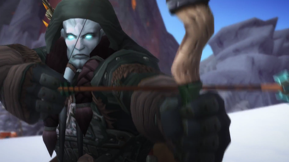 A screencap of World of Warcraft: Warlord of Draenor.