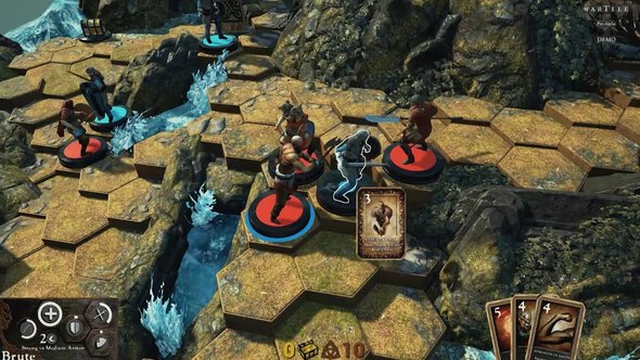 Wartile Diorama Table Top RTS Viking Playwood Project