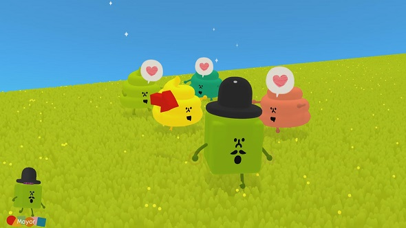 Wattam has you making friends with sentient noses and pieces of smiling poo