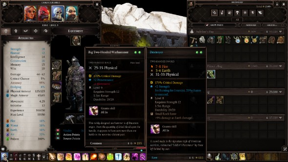 Divinity Original Sin 2 mods weapon choice