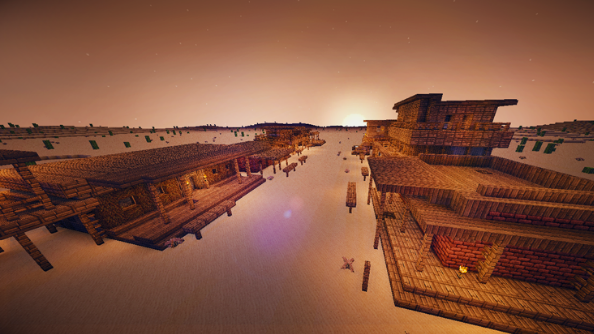best minecraft maps Wild West