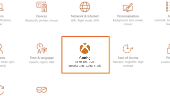 Windows Game Mode performance preview