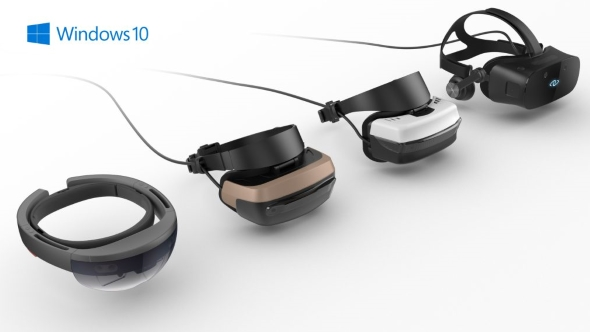 Microsoft and Intel's Project Evo - making mixed reality mainstream in 2017. Sure...
