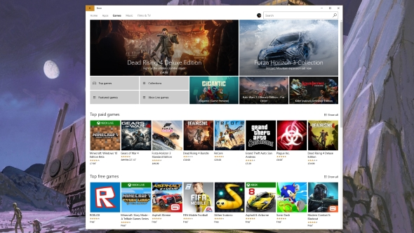 Windows Store forced driver updates