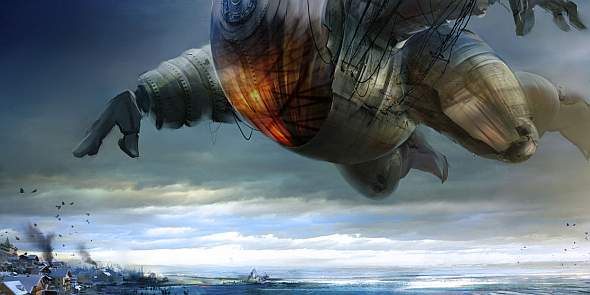 The Toymaker's airship