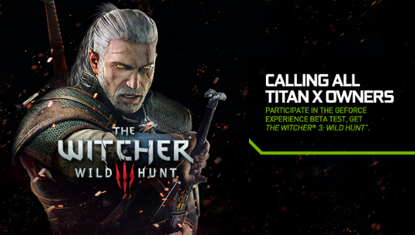 Nvidia Witcher 3 deal