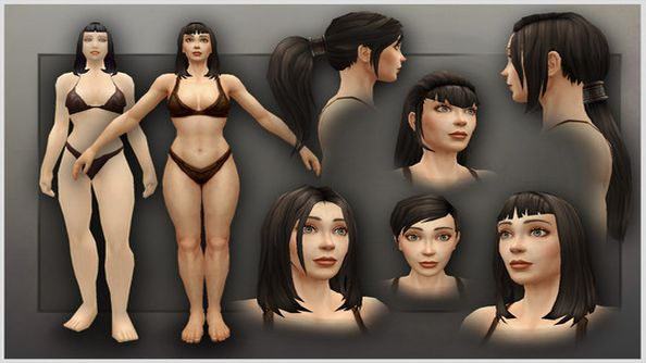 Warlords of Draenor New Character Models