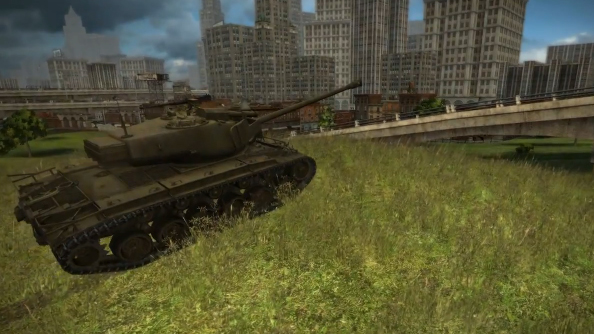 World of Tanks Update 7.5 trailer trundles in