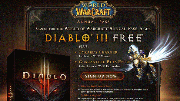 "As World of Warcraft's annual pass expires, Blizzard dev unconcerned at prospect of players leaving: ""it was about reaching players we already had"""