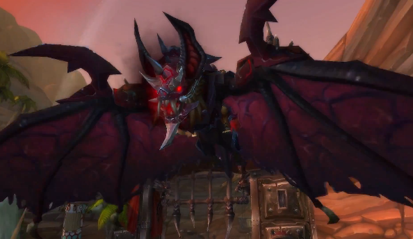 Take to the skies aboard the Armored Bloodwing, the brand new World of Warcraft mount