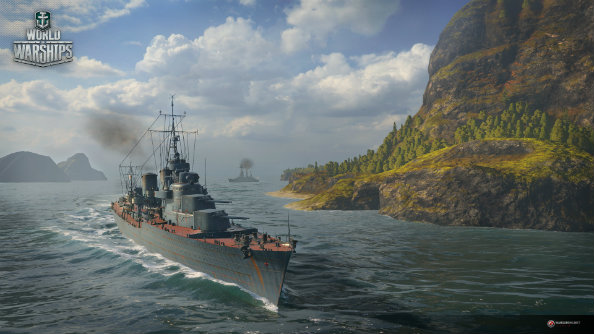 World of Warships gets German cruisers and Soviet destroyers