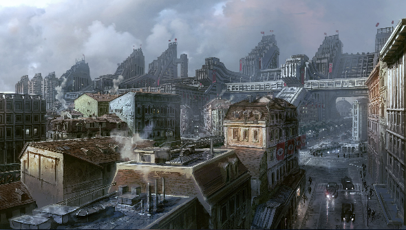Wolfenstein German-friendly concept art
