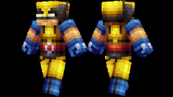 Wolverine Minecraft skin