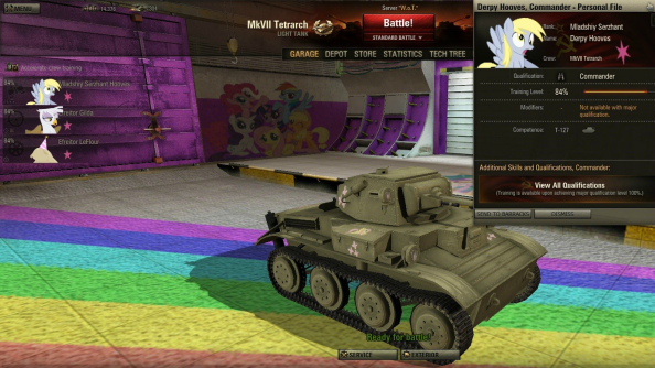 My Little Pony mod compilation brings true horror of war to World of Tanks