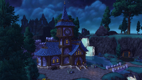 The Sims and SimCity collide in World of Warcraft's new castle-building feature
