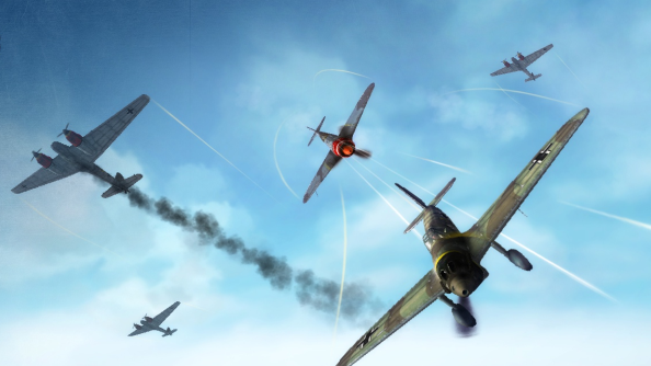 World of Warplanes Dogfight