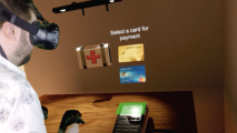 Worldpay HTC Vive VR Headset Payment Visa Debit Credit