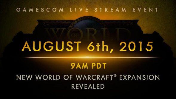 World of Warcraft expansion livestream