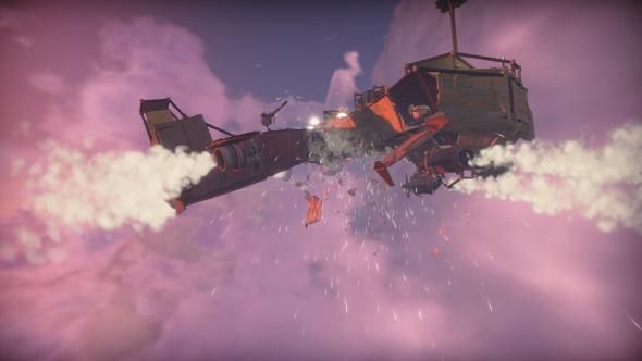 Worlds Adrift skyship