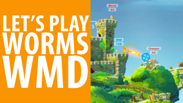Watch us play Worms W.M.D. and remember the good times you had with Concrete Donkeys