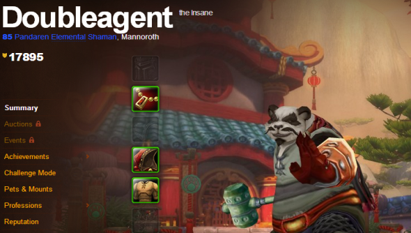 World of Warcraft Neutral Pandaren