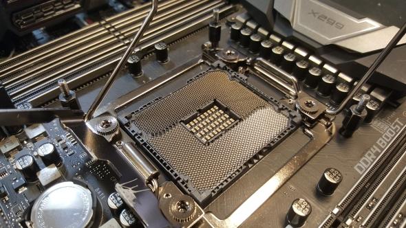 Intel X299 LGA 2066 socket