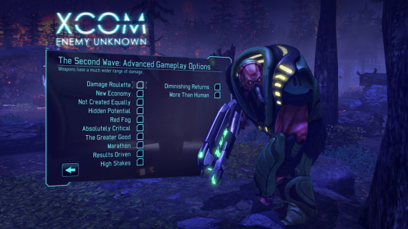 XCOM Second Wave arrives today, adds randomization options