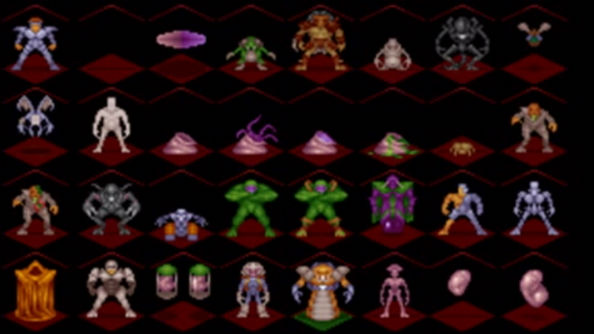 X-Com UFO Defense enemies