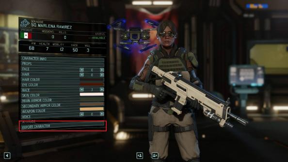 XCOM 2 character sharing