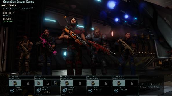 XCOM 2 squad
