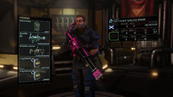 XCOM 2 squad Fraser