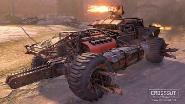 Crossout Firestarters