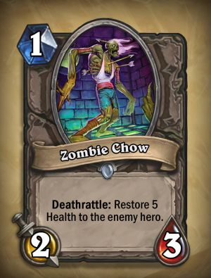 Zombie Chow Hearthstone Card