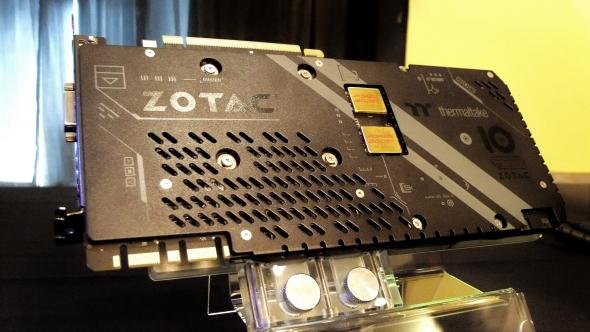Zotac GeForce GTX 1080 ArcticStorm Thermaltake 10 Year Anniversary Edition specs