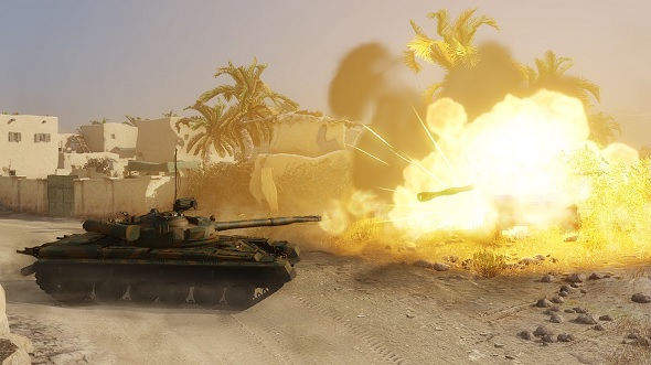 Free games: Win a free tank and 3 days of premium account for Armored Warfare!