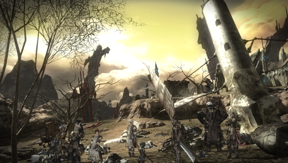 The Realm, Final Fantasy XIV: looking properly imperilled.