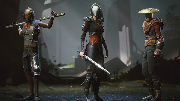 Craft a polygonal martial arts expert in Absolver's character customisation trailer