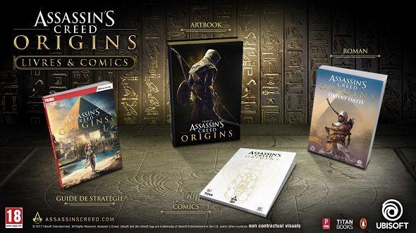 Assassin's Creed Origins comic novel