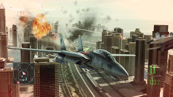 Ace Combat: Assault Horizon is out now. Aces!
