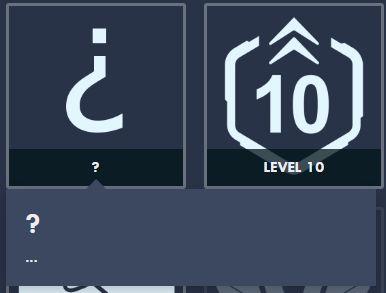 Achievement Q mark