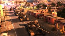 Act of Aggression US Army trailer