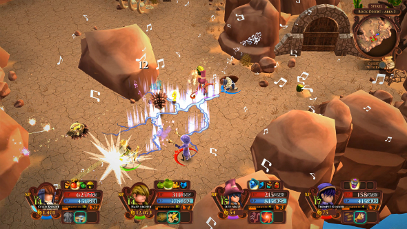 Win a copy of musical, cooperative action-RPG AereA! We have 50 Steam keys up for grabs