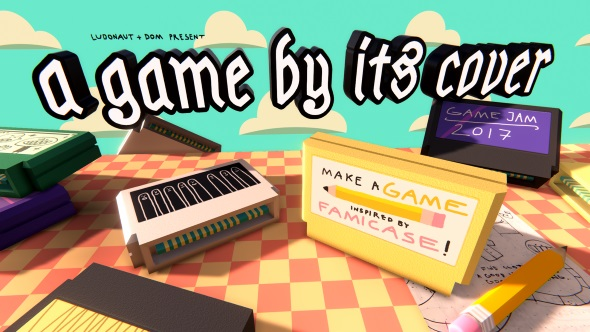 Itch.io dev-jam 'A Game By Its Cover 2017' produces 128 weird and wonderful free games