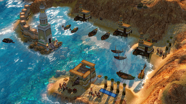 Age of Mythology: Enhanced Edition was developed internally at Microsoft, as far as we can work out.