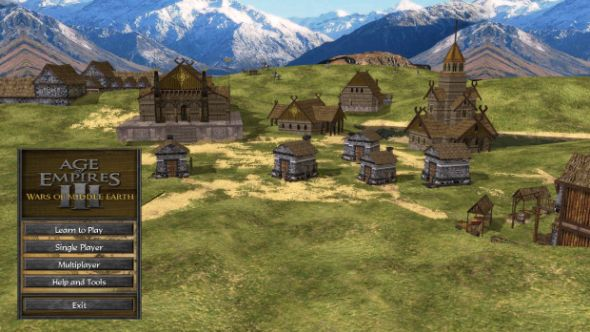 Age of Empires 3 Lord of the Rings mod