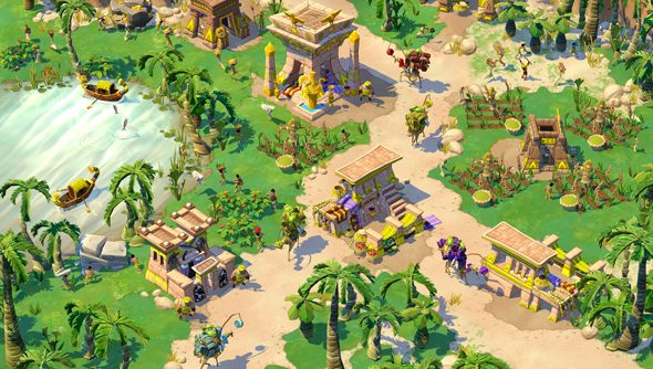 Age of Empires Online: colourful, for a while.